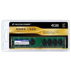 Silicon Power DDR3 4GB 1333Mhz (SP004GBLTU133N02)