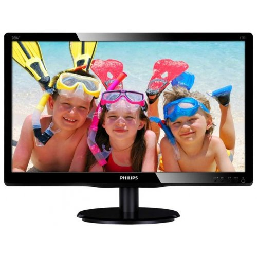 "Монитор Philips 19.5"" 200V4LSB/62 Black"