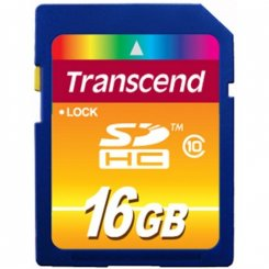 Transcend SDHC 16GB Class 10 (TS16GSDHC10)
