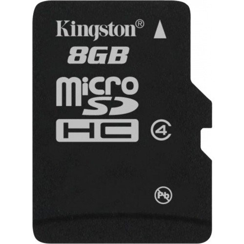 Карта памяти Kingston microSD 8GB Class 4 (без адаптера)