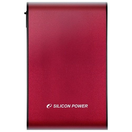 Внешний HDD Silicon Power Armor A70 640GB (SP640GBPHDA70S2R) Red