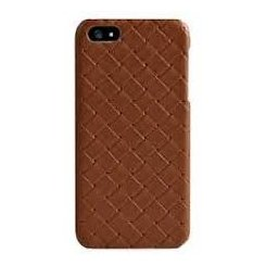 Чехол Verus Premium J Quit for iPhone 5 (Brown) -кожа плетенка