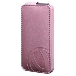 Чехол Verus Vivid Flip case for iPhone 5 (Pink) -матовый