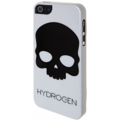 Чехол BENJAMINS для iPhone 5/5s HYDROGEN Black Skull On White Glow In The Dark