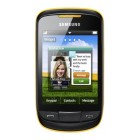Samsung S3850 Corby II Festival Yellow