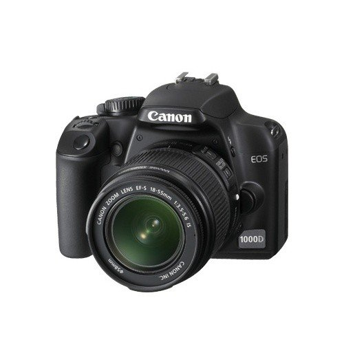 Цифровые фотоаппараты Canon EOS 1000D 18-55 DC Kit