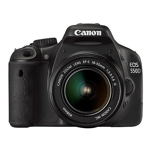 Цифровые фотоаппараты Canon EOS 550D 18-55 IS Kit