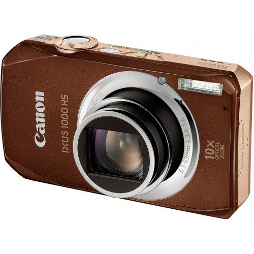 Цифровые фотоаппараты Canon IXUS 1000 HS Brown