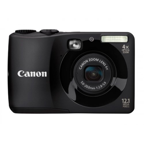 Цифровые фотоаппараты Canon PowerShot A1200 Black