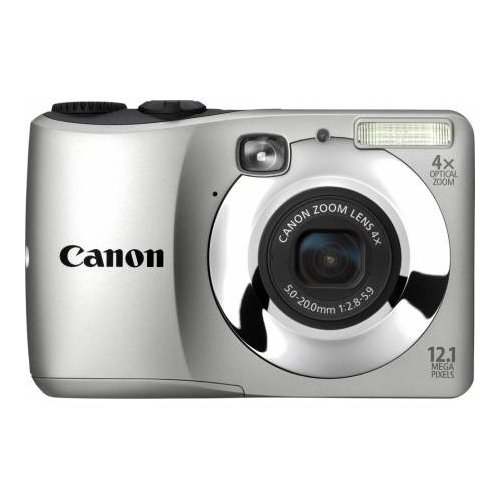 Цифровые фотоаппараты Canon PowerShot A1200 Silver
