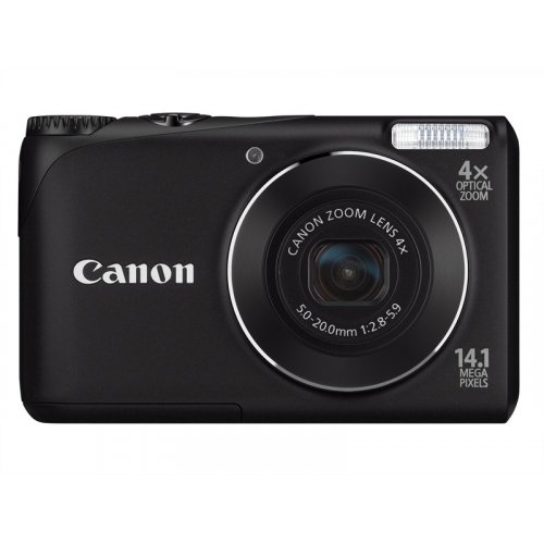 Цифровые фотоаппараты Canon PowerShot A2200 Black