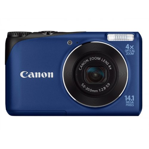 Цифровые фотоаппараты Canon PowerShot A2200 Blue