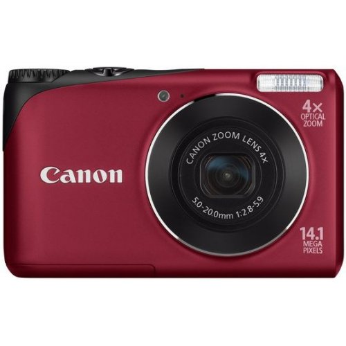 Цифровые фотоаппараты Canon PowerShot A2200 Red