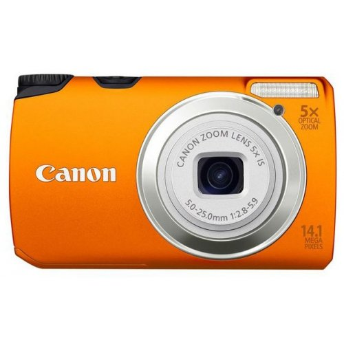 Цифровые фотоаппараты Canon PowerShot A3200 IS Orange