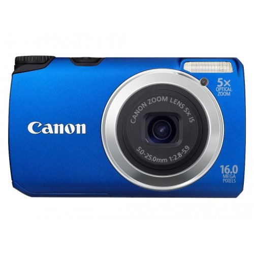 Цифровые фотоаппараты Canon PowerShot A3300 IS Blue
