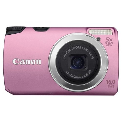 Цифровые фотоаппараты Canon PowerShot A3300 IS Pink