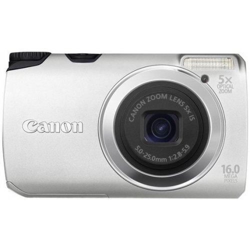 Цифровые фотоаппараты Canon PowerShot A3300 IS Silver