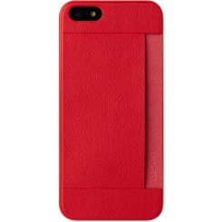 Чехол Ozaki O!coat 0.3 Pocket для iPhone 5/5s OC547RD Red