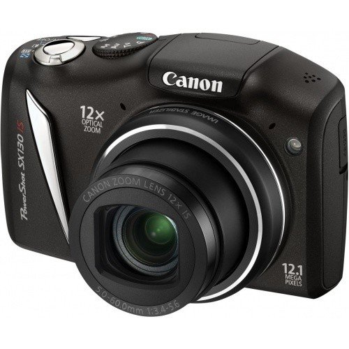 Цифровые фотоаппараты Canon PowerShot SX130 IS Black