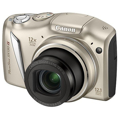 Цифровые фотоаппараты Canon PowerShot SX130 IS Silver