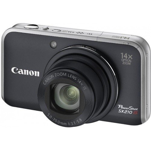 Цифровые фотоаппараты Canon PowerShot SX210 IS Black