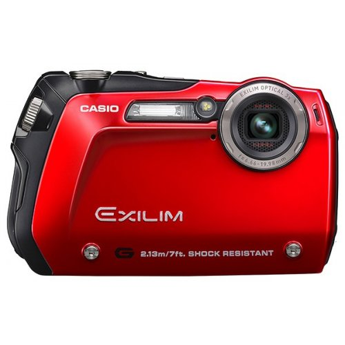 Цифровые фотоаппараты Casio Exilim EX-G1 Red