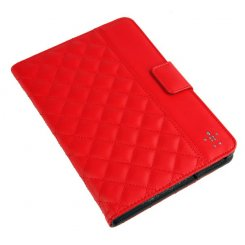 Чехол BELKIN Quilted Cover Stand iPad mini Red