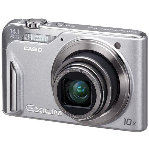 Цифровые фотоаппараты Casio Exilim EX-H15 Silver