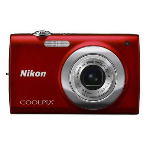 Цифровые фотоаппараты Nikon Coolpix S2500 Red