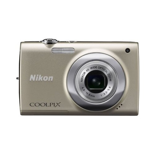 Цифровые фотоаппараты Nikon Coolpix S2500 Silver