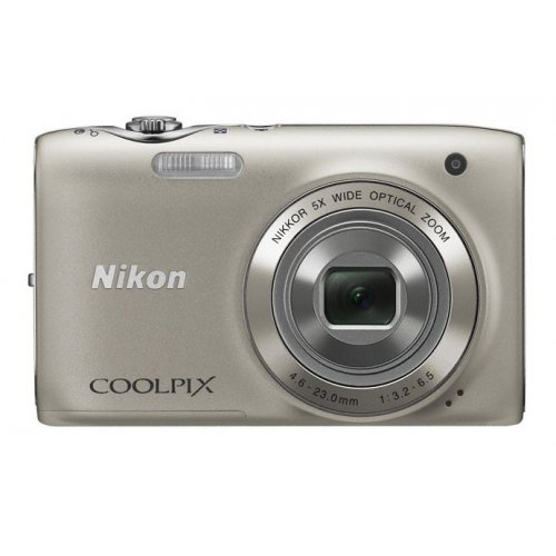 Цифровые фотоаппараты Nikon Coolpix S3100 Silver