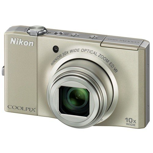 Цифровые фотоаппараты Nikon Coolpix S8000 Silver