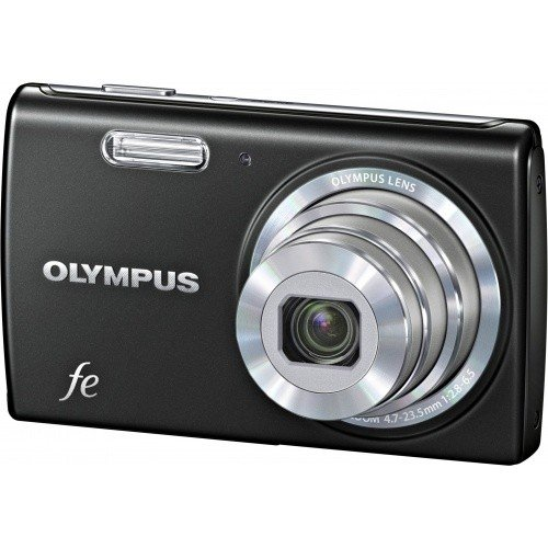 Цифровые фотоаппараты Olympus FE-5040 Classic Black