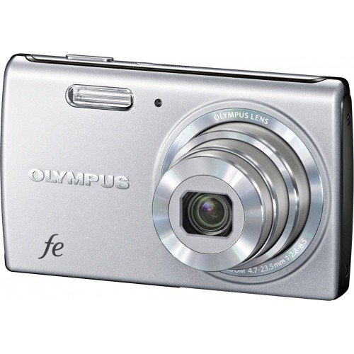 Цифровые фотоаппараты Olympus FE-5040 Starry Silver