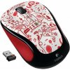 Logitech Wireless Mouse M325 Red Smile