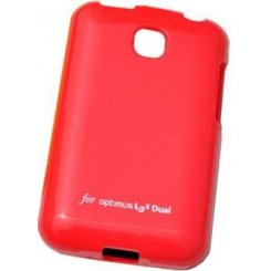 Чехол VOIA LG Optimus L3II Dual E435 Jelly Case Red