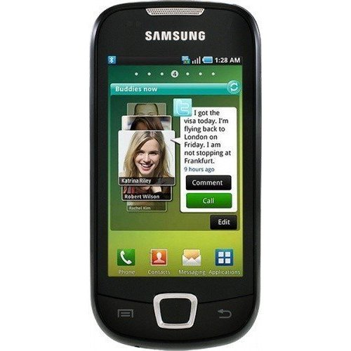 Смартфон Samsung I5800 Galaxy 580 Deep Black