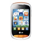 LG T310i Cookie White with Orange