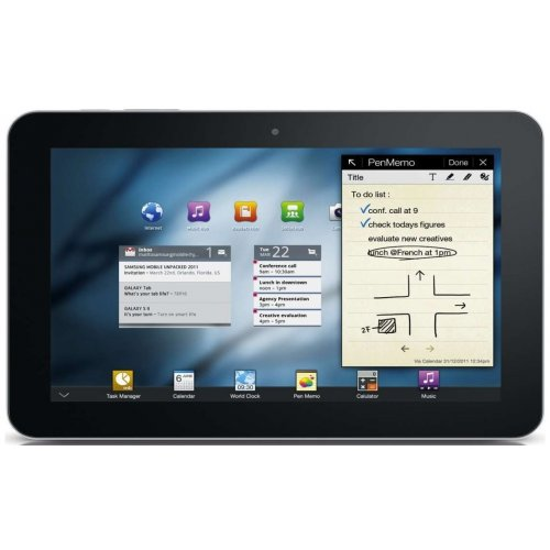 Планшет Samsung P7300 Galaxy Tab 8.9 16GB Soft Black