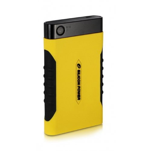 Внешний HDD Silicon Power Armor A10 320GB (SP320GBPHDA10S2Y) Yellow