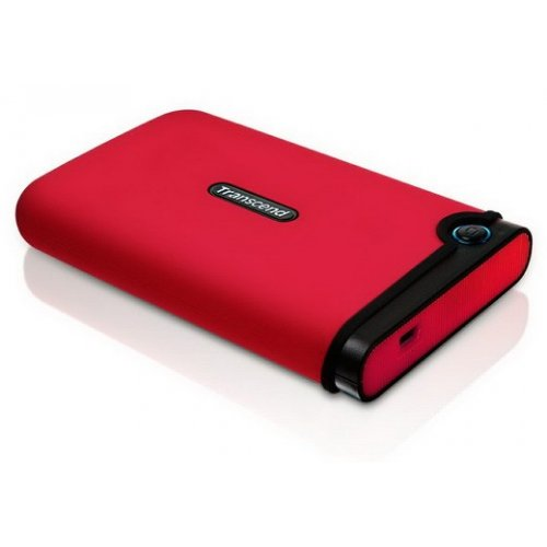 Внешний HDD Transcend StoreJet 25M 640GB (TS640GSJ25M-R) Red