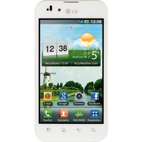 Смартфон LG Optimus Black P970 White