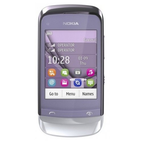 Мобильный телефон Nokia C2-06 Touch and Type Dual SIM Lilac