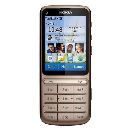 Мобильный телефон Nokia C3-01.5 Touch and Type Copper Brown