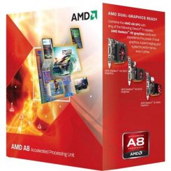 AMD A8-7600 3.1GHz 4MB sFM2+ Box (AD7600YBJABOX)