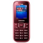Samsung E1232B Duos Wine Red