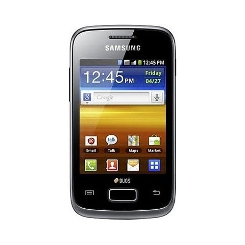 Смартфон Samsung Galaxy Y Duos S6102 Strong Black