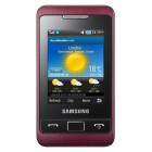 Samsung C3330 Champ 2 Wine Red