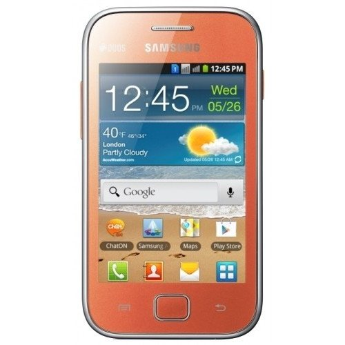 Смартфон Samsung Galaxy Ace Duos S6802 Orange