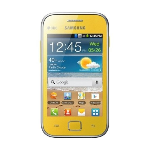 Смартфон Samsung Galaxy Ace Duos S6802 Yellow